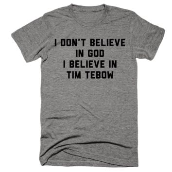 I Believe In Tim Tebow