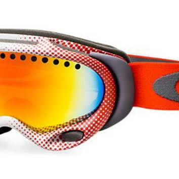 Oakley Goggles A FRAME LINDSEY VONN Red / Orange