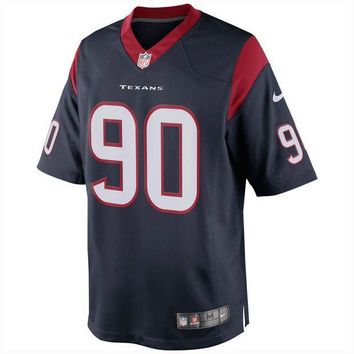 PEAPNO Houston Texans Jadeveon Clowney NFL Nike Limited Team Jersey