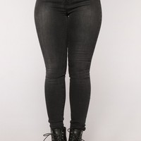 Cloudy Pay Super Skinny Jeans Grey