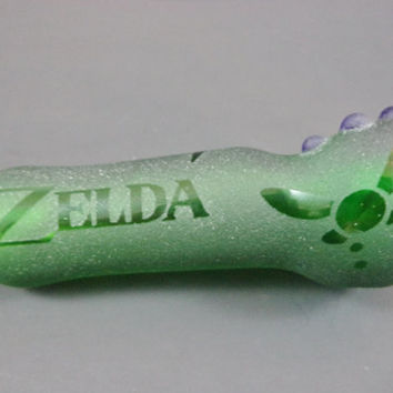 Legend Of Zelda Glass Pipe