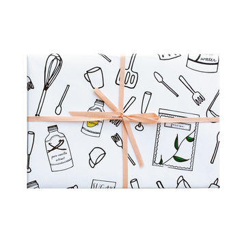 Utensils Wrapping Sheets