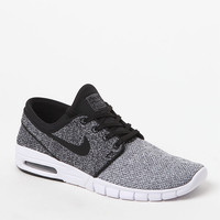 Nike SB Stefan Janoski Max Knit White and Black Shoes at PacSun.com