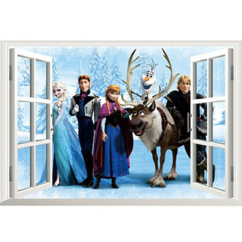 Frozen Snow Sticker