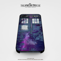 Dr Who Tardis Police Box Galaxy Nebula case for iPhone, iPod, Samsung Galaxy, HTC One, Nexus