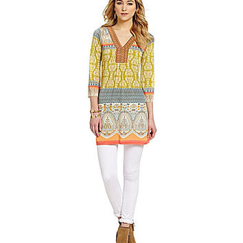 Paris Hues Multi Print Tunic - Multi