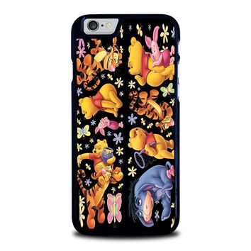 winnie the pooh and friends iphone 6 6s case cover  number 1