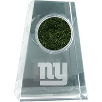 Steiner Sports New York Giants Crystal Paper Weight with Logo and Game-Day Turf (Gia Team)