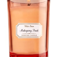 Medium Candle Mahogany Peach
