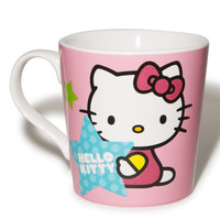 Vandor Hello Kitty Stars Ceramic Mug Cream One