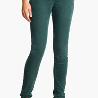 Silver Jeans Co. 'Suki' Skinny Corduroy Pants (Burgundy) (Juniors) | Nordstrom