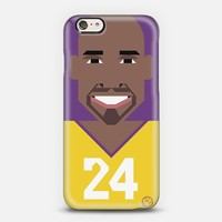 Simple Kobe Bryant iPhone 6 case by Simple People | Casetify