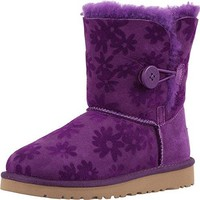 UGG Kids Girl's Bailey Button Flowers (Little Kid/Big Kid)