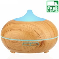 Wood Ultrasonic Essential Oil Diffuser & Humidifier