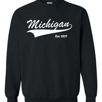 Michigan Crewneck Sweatshirt