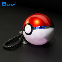 Befly 1PC NEW Arrivals:12000mAh Pokemon Go Ball II Power Bank Magic Ball Charger Double USB Port  for all phone