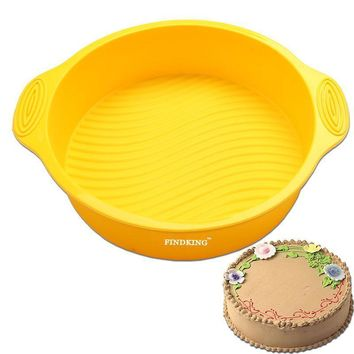 9 inch Round Shape Silicone Cake Mold
