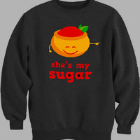 sugar and spice couple men Sweater for Mens Sweater and Womens Sweater ***