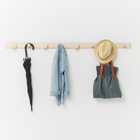 Contemporary Ply Coat Rack | Wall Hooks. Made in Italy for Plyroom