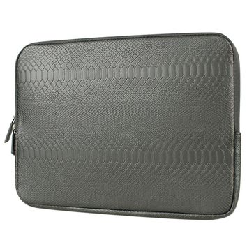 Snake Skin Leather Sleeve Case 12/13/14/15 inch Laptop Bag For MacBook Notebook Case Air Pro