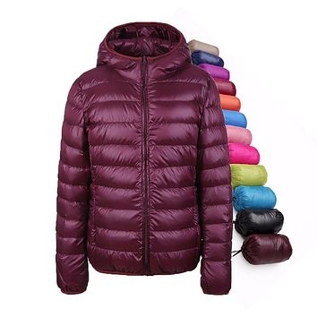 packable down jacket women's plus size