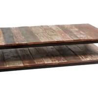 One Kings Lane - Rustic Meets Refined - Terra Coffee Table