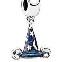 Pandora Disney Charm Mickey Mouse Mickey's Sorcerer's Hat Charm Dangle