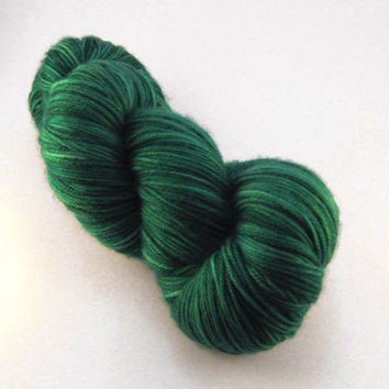 Oh Tananbaum - Hand Painted - Sock Yarn - Hand Dyed - Christmas Yarn - Gift for knitter - Holiday Yarn - Jingle Bells