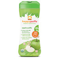 Happy Family Brands Happy Puffs Apple Organic Finger Foods for Babies 2.1 oz.