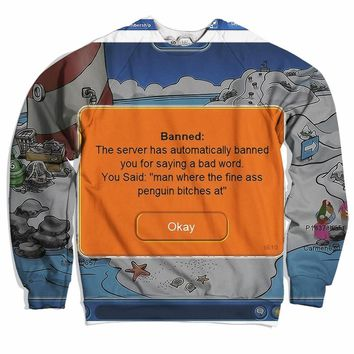 Club Penguin Ban Sweater