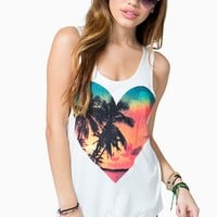 Tropical Sunset Lovin Tank