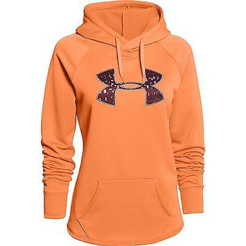 Under Armour Women's Ua Rival Storm Coldgear Hoodie - 1246825-623