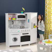Large Play Kitchen - White
