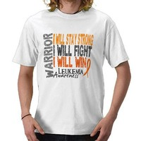 Leukemia Warrior Shirt from Zazzle.com