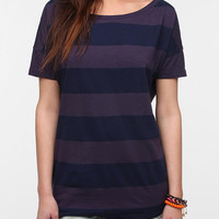 Urban Outfitters - Truly Madly Deeply Bold Striped Boyfriend Tee