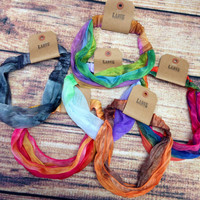 TIE DYED HEAD WRAPS