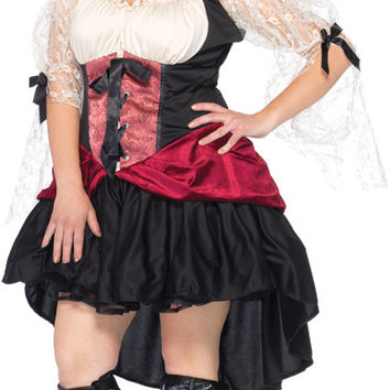 women's costume: wicked wench peasant dress | 3xl