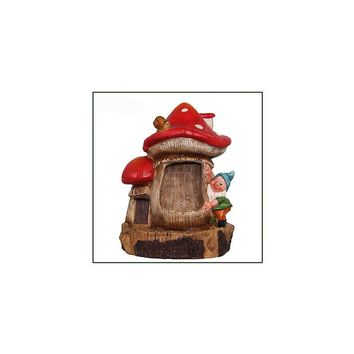 Sintechno Inc Cute Gnome and Snail Sculptural Fountain