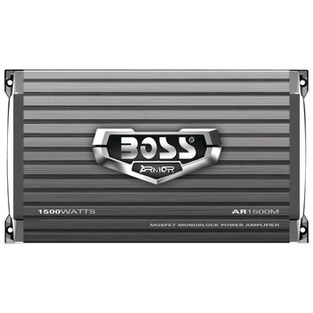 BOSS AUDIO Armor Series Monoblock MOSFET Power Amp with Remote Subwoofer Level C