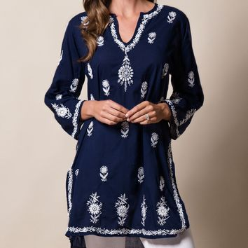 Krishna Blue Tunic