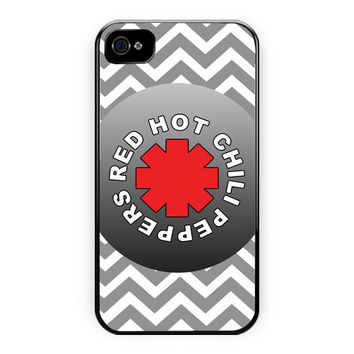 Red Hot Chili Peppers Chevron iPhone 4/4S Case