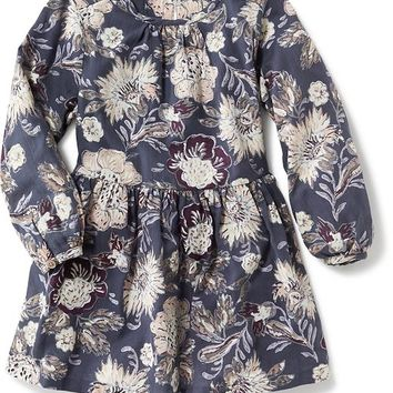Old Navy Crepe Floral Dress