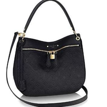 Louis Vuitton Leather Spontini Cross Body Carry Handbag Article:M42819 Noir