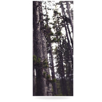 """Leah Flores """"Woods"""" Forest Luxe Rectangle Panel"""