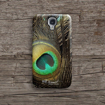 Peacock feather Samsung S5 case, Samsung S4 case S304