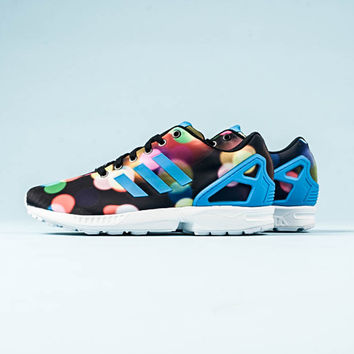 Adidas ZX flux- 'Black/Multi'