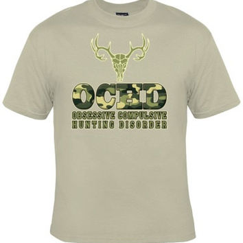 OBSESSIVE COMPULSIVE HUNTING Tee, Great Tee For Dads, Boyfriends, Grandpa Who Love Fishing Awesome Christmas Gift