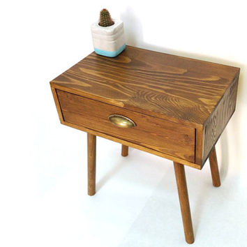 Mid Century Modern Tables, Midcentury Bedside Table, Scandinavian Table, Retro Nightstand, Coffee Table, Bedside Drawers