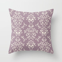 Decorative Pattern in Light Magenta and Cream by Lena Photo Art