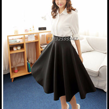 Autumn And Winter Umbrella Skirt